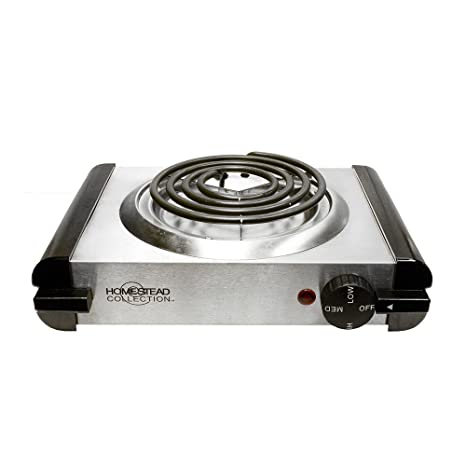 Amazon.com: 120V Portable Electric Single Burner Camper ...