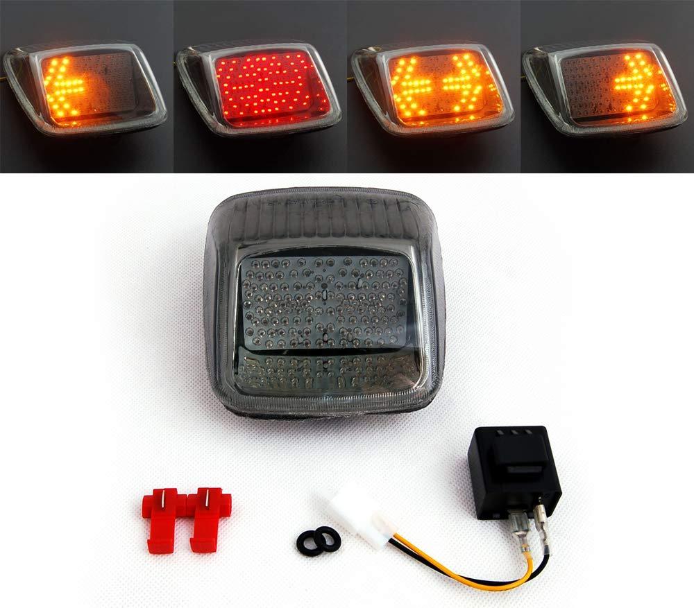 Areyourshop Taillight + Turn Signals For Harley V-ROD Night Rod Street Rod 2002-2011 Smoke