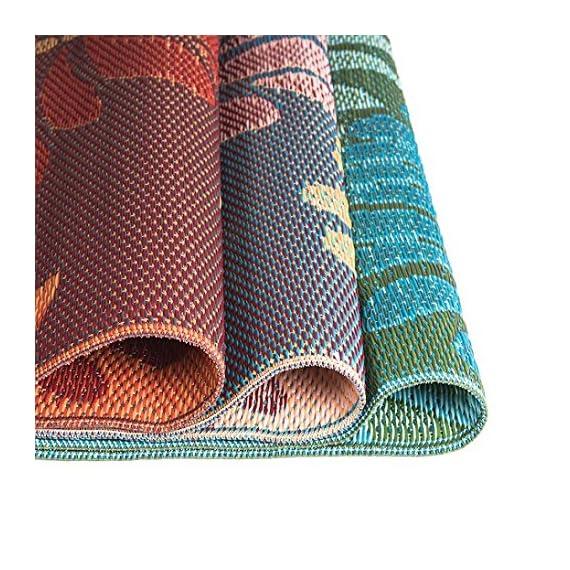 eLuxurySupply Outdoor Rug - Mad Mats | UV Fade Resistant | Waterproof Woven Outdoor Mat | 100% Recycled & Reversible Polypropylene Plastic Wicker| Non-Slip | Beach Deck & Doormat | Multiple Colors -  - living-room-soft-furnishings, living-room, area-rugs - 61opiSKyOTL. SS570  -