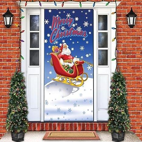 Christmas Door.Merry Christmas Door Cover
