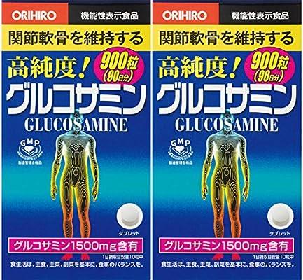 Orihiro high Purity glucosamine-chondroitin Grain Value Pack 900 Capsules (90 Days), Set of 2
