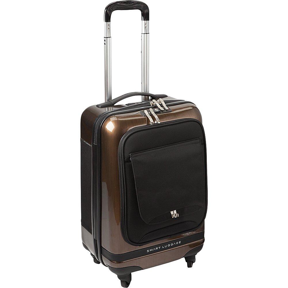 Numinous London Smart Executive 20'' Cabin Luggage Case, Gold Brush