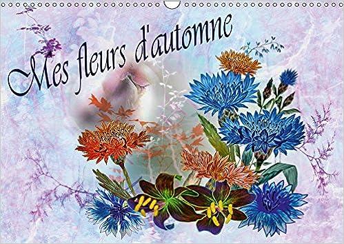 Mes Fleurs Dautomne 2019 Dessins Au Crayon De Couleur