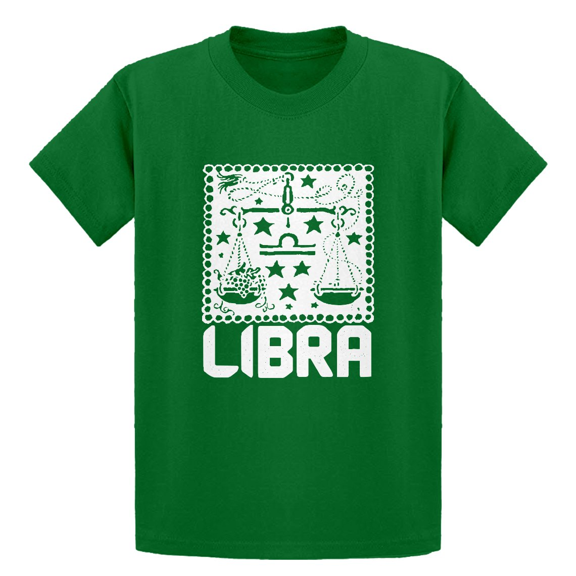 Indica Plateau Youth Libra Zodiac Astrology Kids T-Shirt