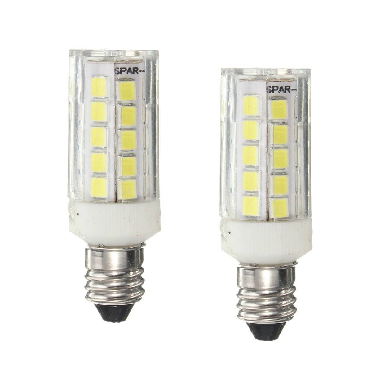 Kingso E11 4w Led Bulb 40w Halogen Replacement Lights 450 Lumens Mini Candelab Ebay