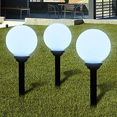 Xingshuoonline - Lámpara solar LED para exteriores con diseño de ...