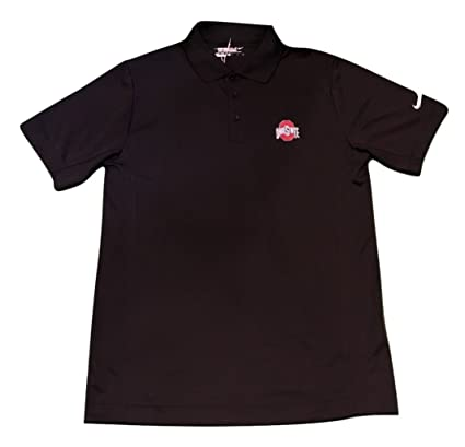 d3864ee2c Amazon.com   Nike Ohio State Buckeyes Men s Black Polo   Sports ...