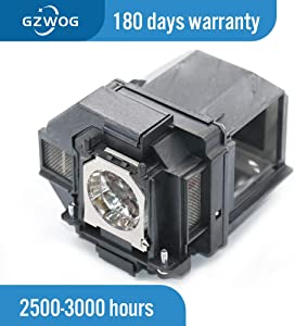 Gzwog ELPLP96 V13H010L96 Replacement Projector Lamp Bulb with Housing for Epson Powerlite Home Cinema 2150 2100 660 1060 60hd VS250 VS350 VS355 EX9210 EX9220 EX3260 EX5260