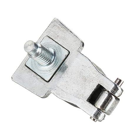TOOGOO Kit de Reparación de Bisagras de Manejar de Puerta Exterior de Metal Cromado Os/