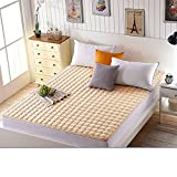 DHWJ Student non-slip mattress Dormitory single bed pads Mattress-B Queen1