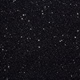 3 Sheets of 10''x12'' Siser Glitter Iron-on Heat Transfer Vinyl (Galaxy Black)
