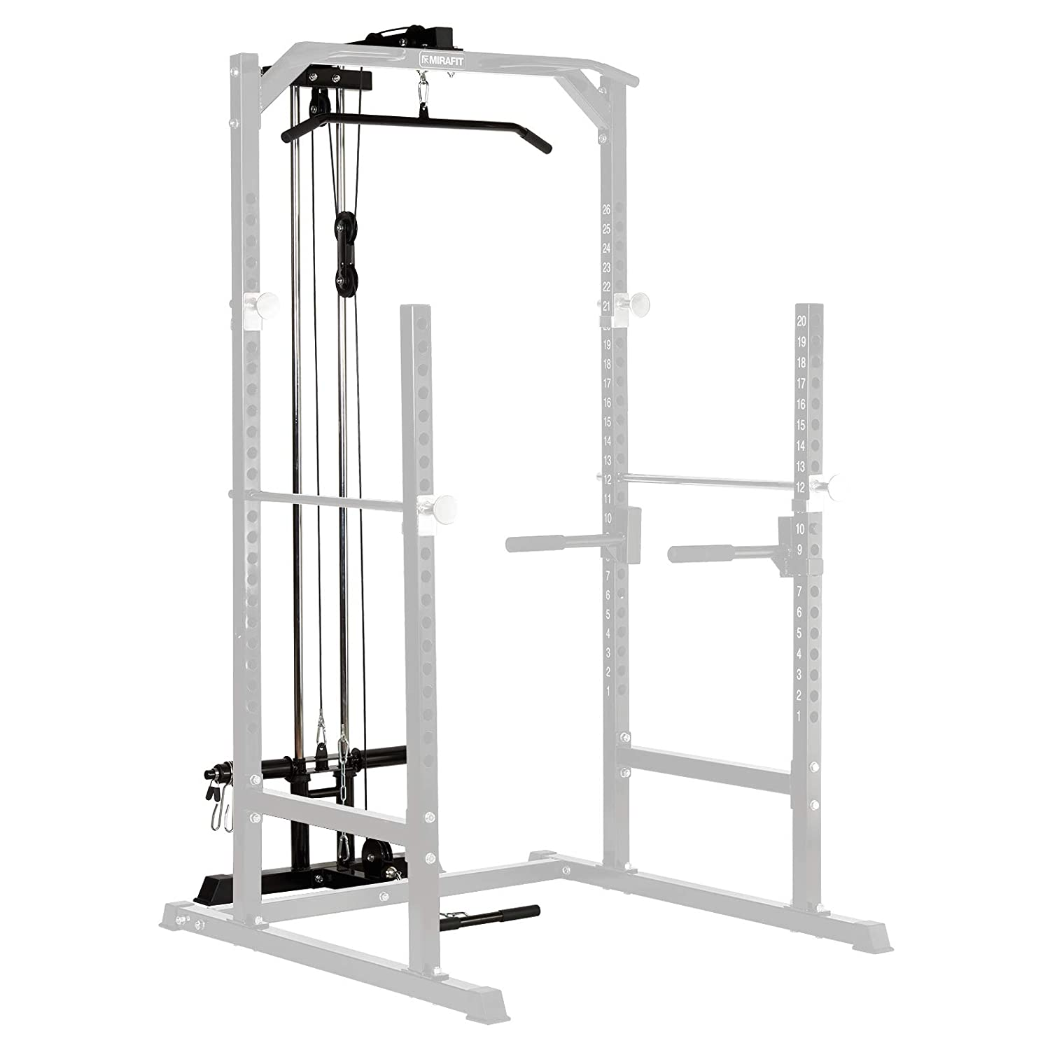 Mirafit Cable System Upgrade Kit for Half Power Cage