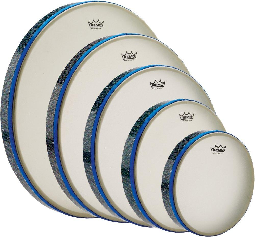 Amazon.com: Remo HD8900-05 Thinline Frame Drum Set: Musical Instruments