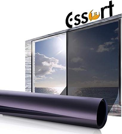 Protezione dal sole protezione pellicola adesiva per finestre di produzione pellicola per finestre 61 x 300 cm colore argento