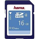 Hama HighSpeed SDHC Card 16GB Speicherkarte, Class 4