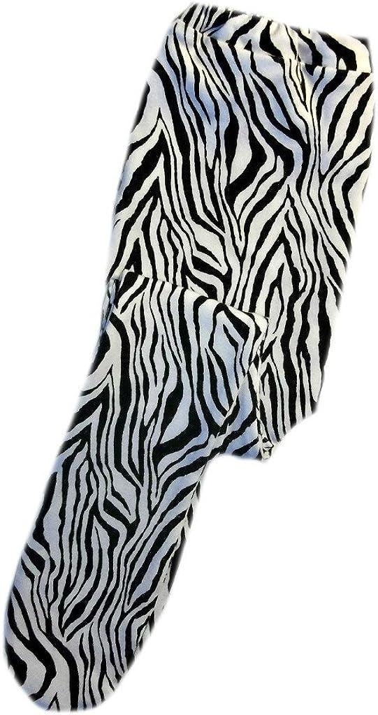 Micro Preemie Jacquis Baby Girls Zany Zebra Tights