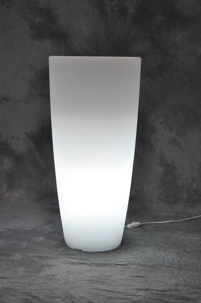 VASE HOME LIGHT ROUND CM.40X90H.GHIAC / BIA-