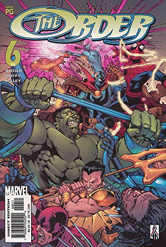 Order, The #6 VF ; Marvel comic - Triathlon Order