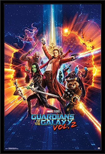 Trends International Framed Poster Guardians of the Galaxy 2