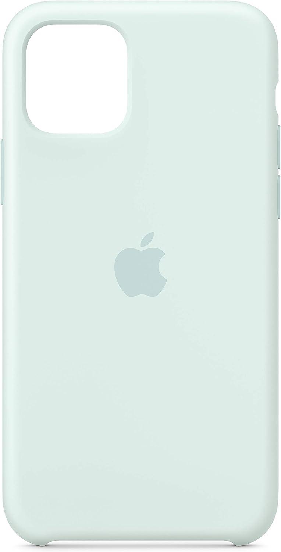 Apple Silicone Case (for iPhone 11 Pro) - Seafoam