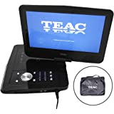 "TEAC 10.1"" Portable DVD Player | Swivel Screen | Carry Bag w Car Adaptor | Earphones INC. | USB, SD, MMC Playback| Plus…"