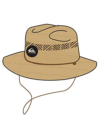 4c752545c Men Sun Hats Quiksilver Mens Pierside Slimbot Sun Protection Hat Sun Hat