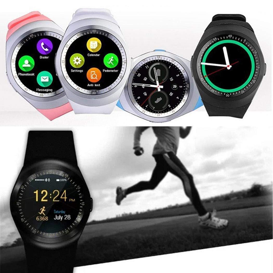 Actividad Smartwatch Monitoreo del Sueño Bluetooth Reloj Inteligente Soporte de Tarjeta SIM para Android