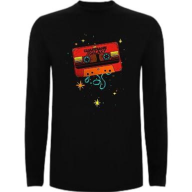 9266431cb Camiseta Manga Larga de NIÑOS Guardianes de la Galaxia Groot Rocket  Starlord  Amazon.es  Ropa y accesorios