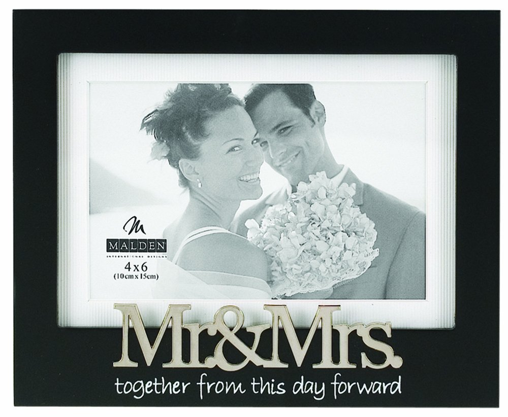 Amazon.com - Malden International Designs Wedding Mr. and Mrs ...