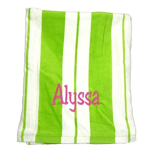 personalized beach towels amazon com