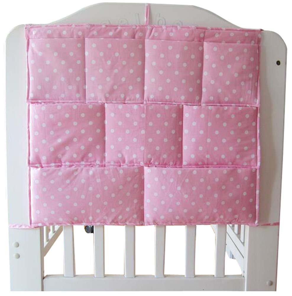 Amazon.com: Full Rosa Algodón de cama infantil colgar ...