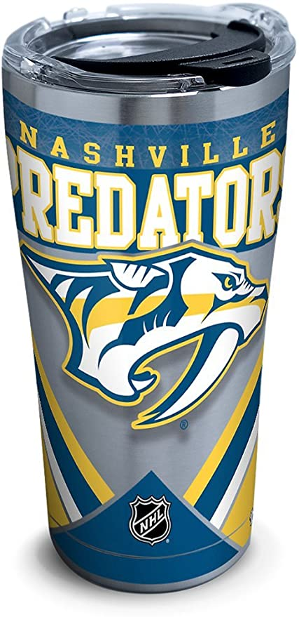 2d4c1f0f2f3f8 Image Unavailable. Image not available for. Color  Tervis 1281320 Nhl  Nashville Predators Ice Stainless Steel Tumbler ...