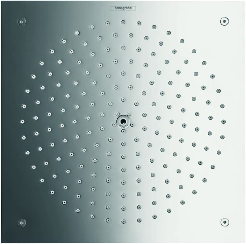 Cromo ahorro de agua Hansgrohe 26481000 Raindance Ducha fija 260//260 260x260mm