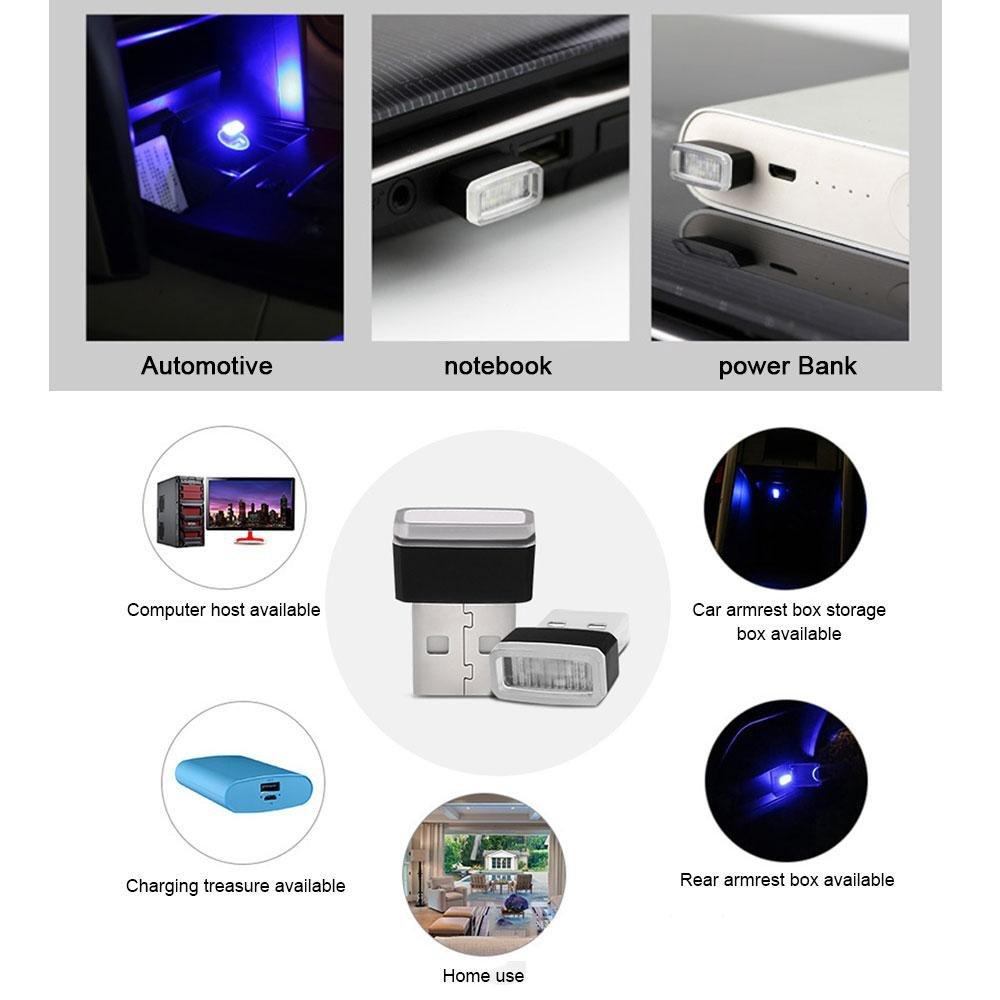 ordinateurs et batteries externes Pawaca /Éclairage LED USB pour voiture