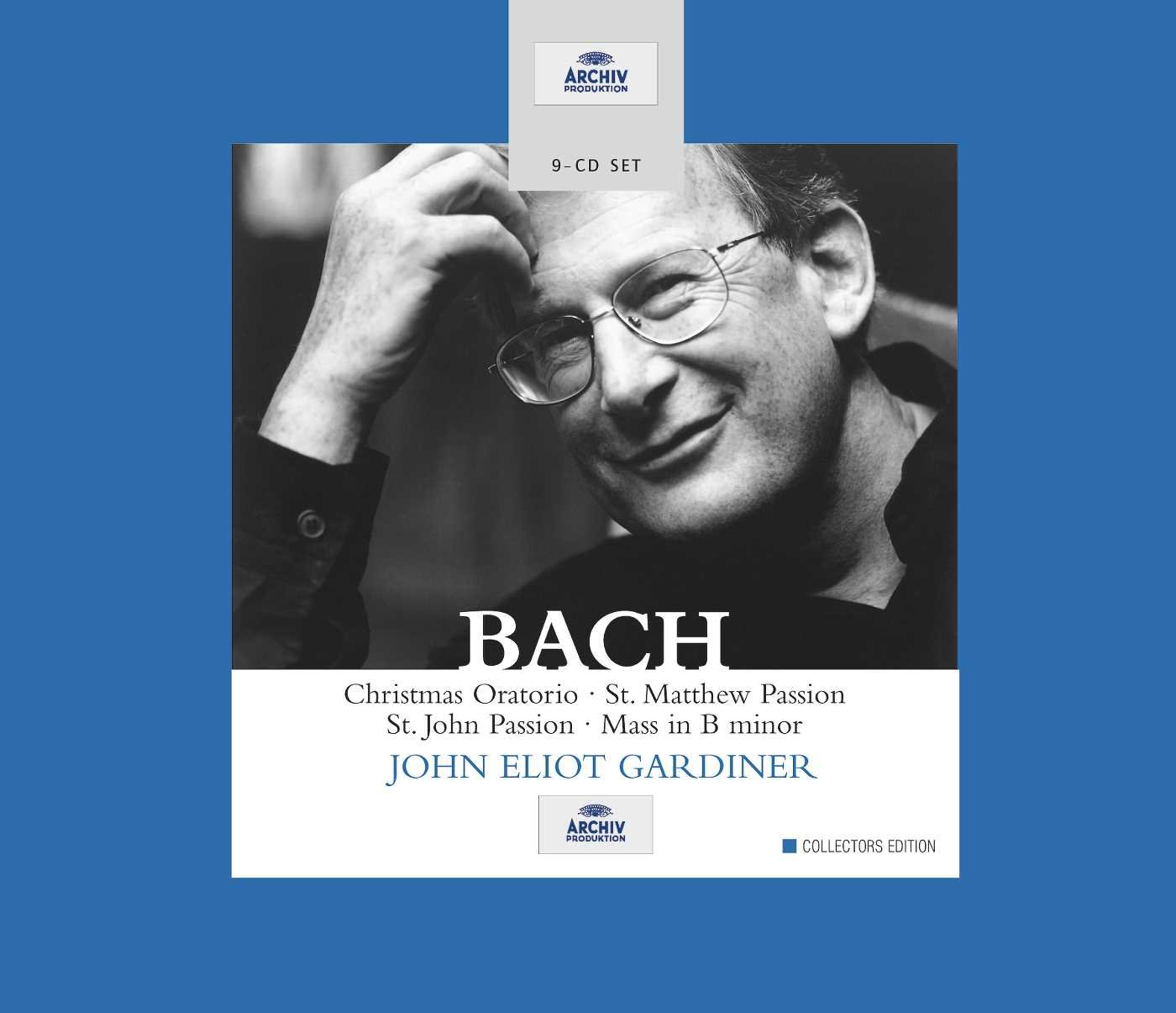 St Matthew Passion / Mass B Min / St John Passion / Christmas Oratorio by Deutsche Grammophon