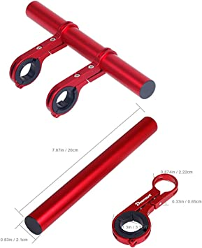 HaiQianXin 10 cm / 20 cm Manillar de Bicicleta Soporte extendido ...