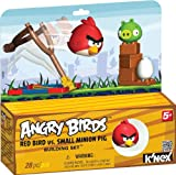 K'NEX Angry Birds Red Bird versus Small Minion Pig