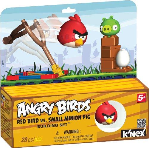 K'NEX Angry Birds Red Bird versus Small Minion Pig (Angry Birds Red)