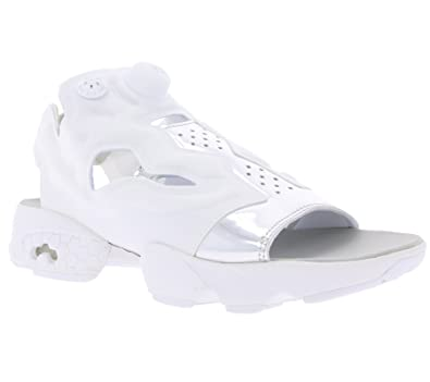 1c894f0183f76c Reebok Classic Instapump Fury Sandal Mag Women s Sandal White with heel  strap