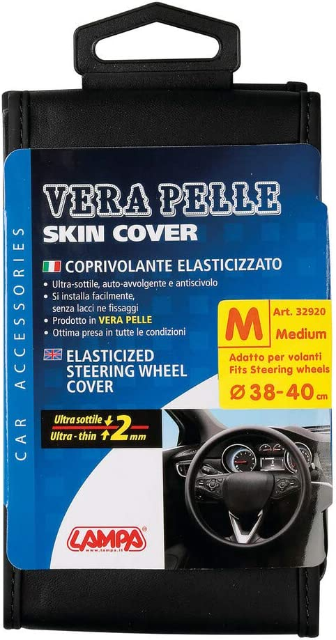 Vera Pelle M /Ã/˜ 38//40 cm coprivolante Elasticizzato Lampa 32928 Skin-Cover