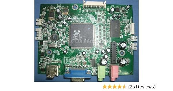 Repair Kit, Hanns-G HG281D Main Board, LCD Monitor, Capacitors, Not on