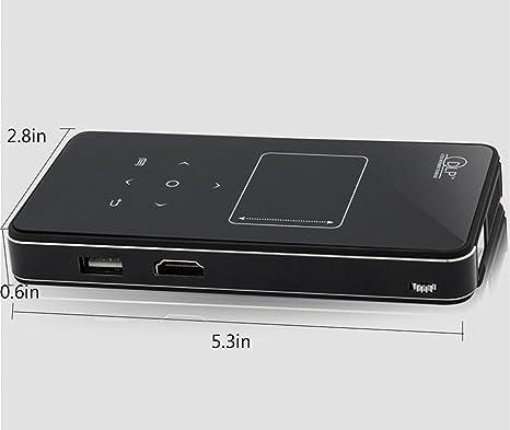 Proyector Mini Portátil Android WIFI / Bluetooth / Estéreo Publicidad Móvil TV Sin Pantalla