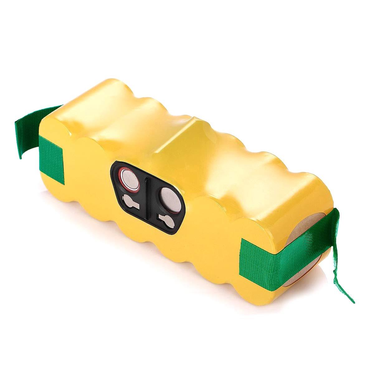 Jhuixang 3000mAh Ni-MH Battery for iRobot Roomba R3 500 600 700 800 900 Series 500 510 530 531 532 535 536 540 550 552 560 562 570 580 595 600 620 630 650 660 700 760 770 780 790 800 870 880 900 980