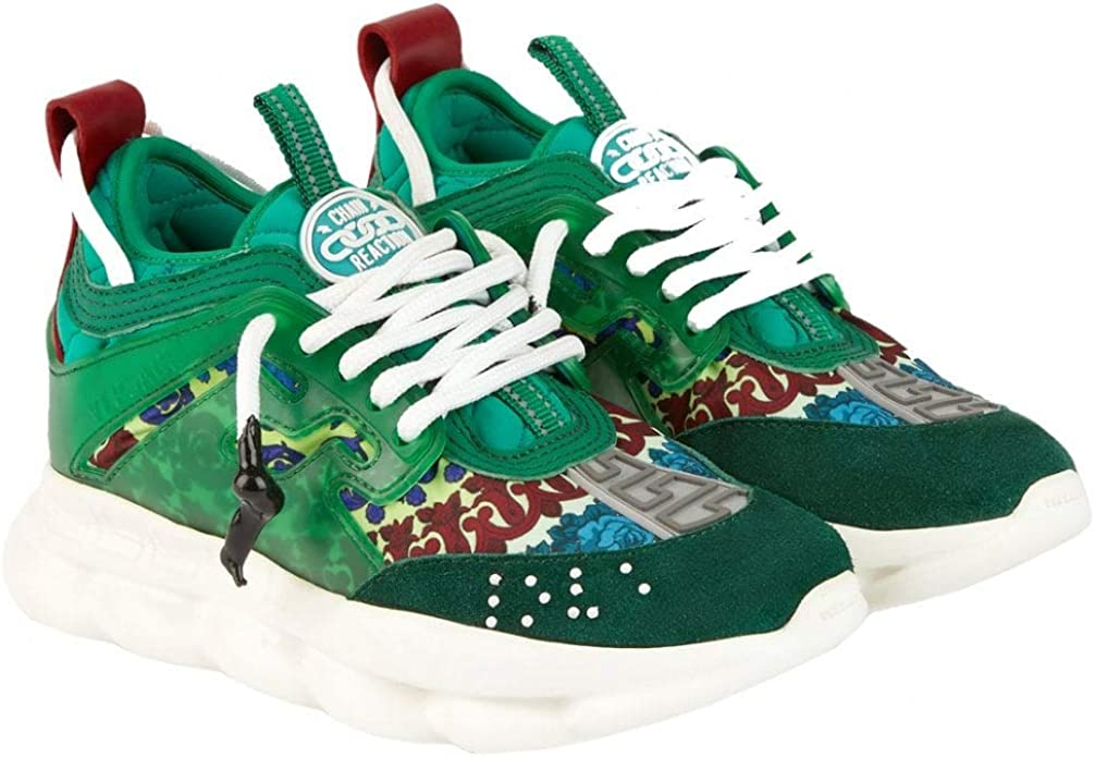 Versace Kids Chain Reaction Trainers 39