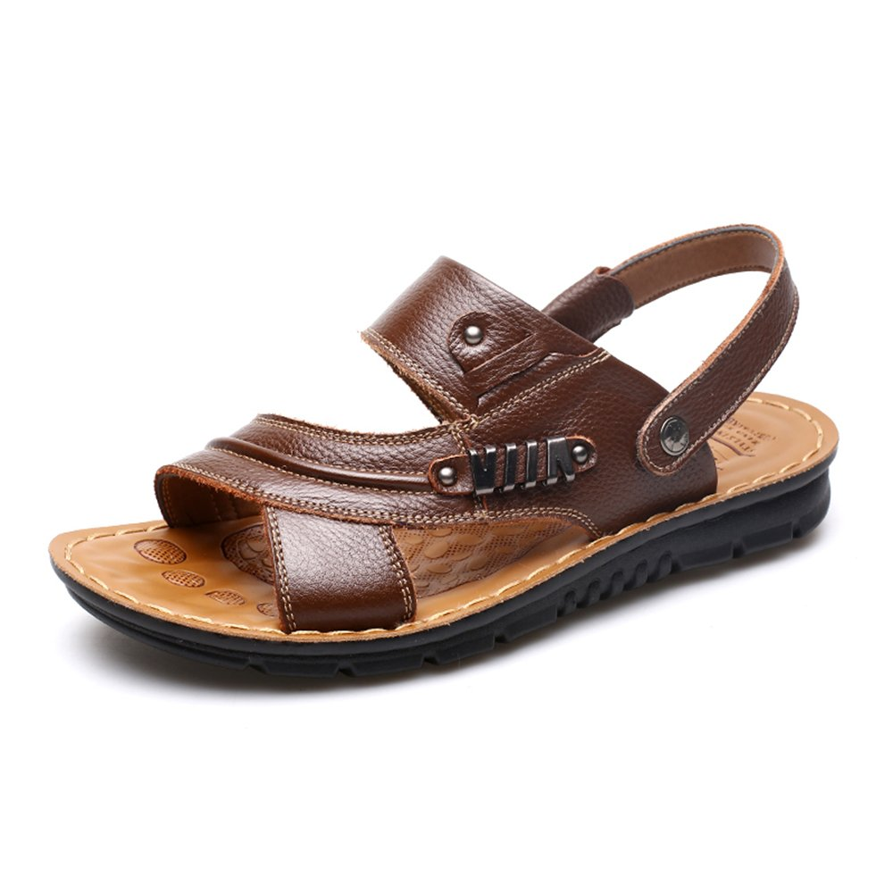 dc3e7825919400 Sandals HUO Men Summer Non-slip Fashion The New Outdoor Beach Shoes Casual  Soft Bottom Dual Use High Quality Breathable Slippers Comfortable absorb  sweat