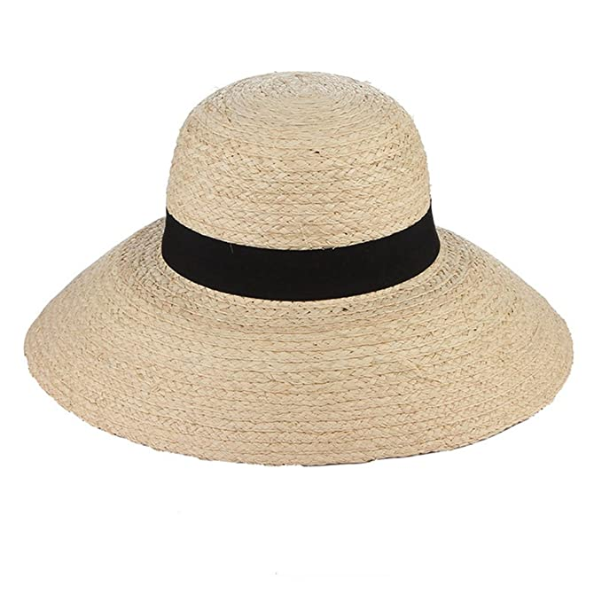 913b6ee5 August Jim Sombreros de Verano para Mujer, Estilo clásico, Redondos ...