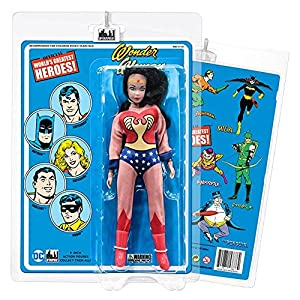 61oq%2BqeglKL. SS300 DC Comics 8 Inch Action Figures with Retro Cards: Wonder Woman