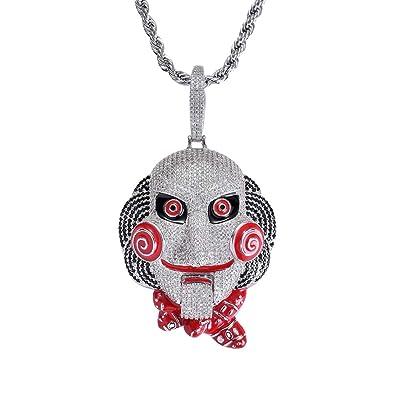 nuovi arrivi af12c 5966d MoCa Jewelry - Collana con Ciondolo a Forma di Pagliaccio 69 ...