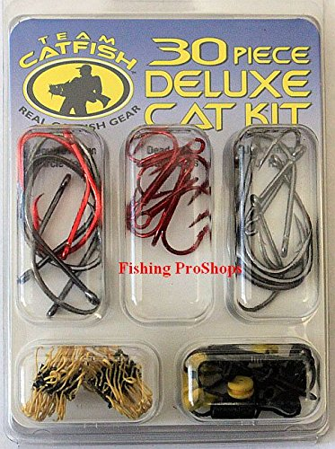 Tru-Turn Assorted Team Catfish Deluxe Cat Kit (30-Piece) - Cat Fishing Gear