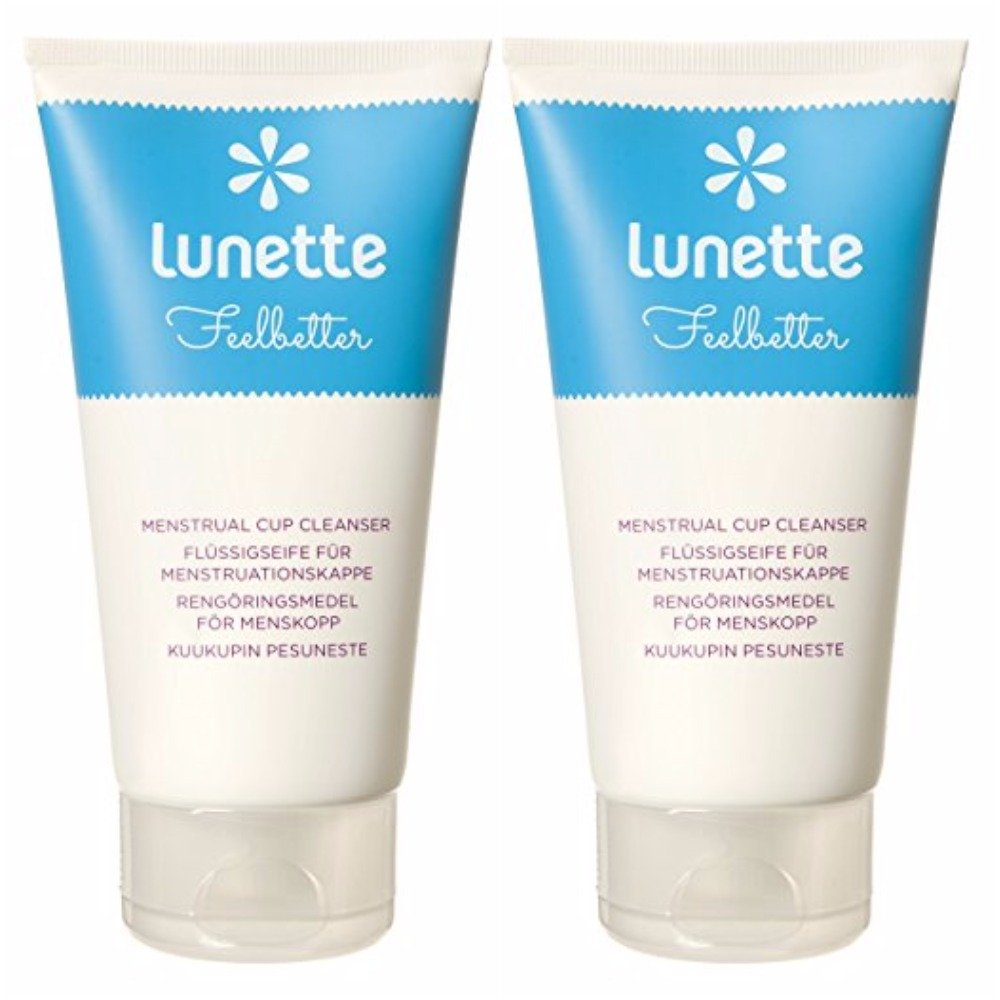 Lunette Feelbetter Menstrual Cup Cleanser,5 fl oz (Pack Of 2)